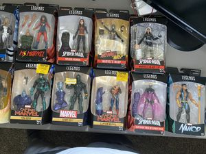 13 Brand New Marvel Legend Figures for Sale in Fresno, CA
