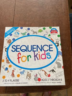 Sequence for Kids Game for Sale in Walnut, CA