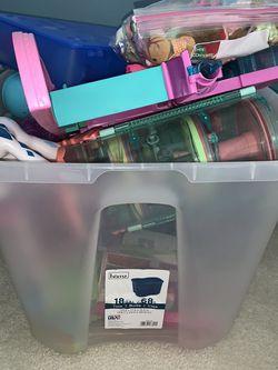 Big tub of Littlest Pet Shop toys for Sale in Portland,  OR