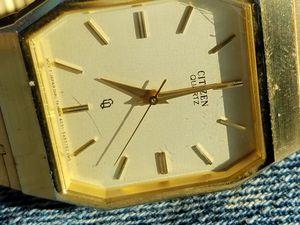 Vintage citizen quartz gold plated watch for Sale in Sunbury, OH