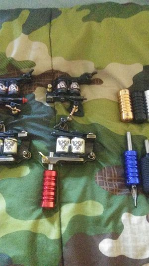 Dragon Hawk Tattoo Machines (set of 4) for Sale in Hermon, ME