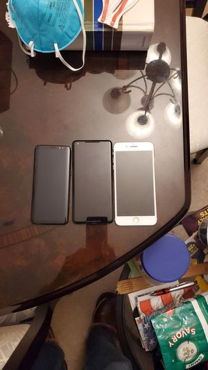 Samsung s8. Pixle2x. I phone 7 for Sale in Forest Heights, MD