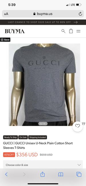 Gucci shirt for Sale in Scottsdale, AZ