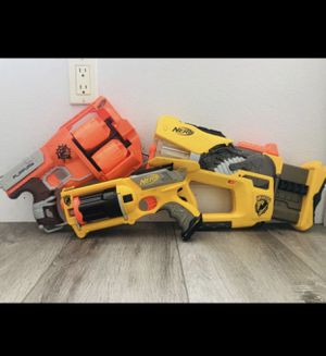 Nerf guns all for only $35 for Sale in Riverside, CA