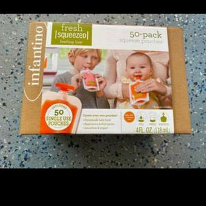 Infantino Squeeze Pouches and Squeeze Station for Sale in Dublin, CA