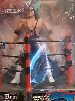 1999 NWO Ring Fighters Bret Hart Figure for Sale in Milwaukie,  OR