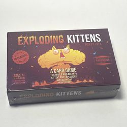 Exploding Kittens Party Pack Card Game Board Game for Sale in Inglewood,  CA