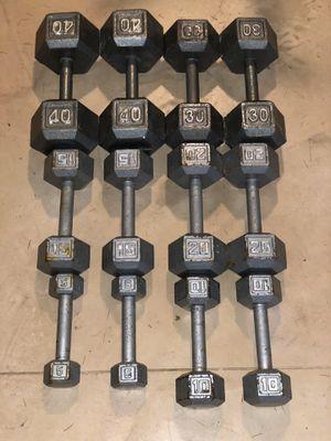 Dumbbells 5-40 lbs for Sale in Seattle, WA