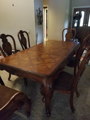 Dining room set $80 per chair table free for Sale in Tampa, FL
