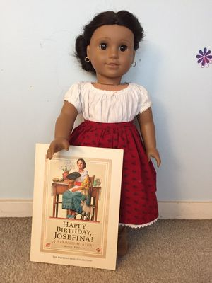 Great condition, Josefina American girl doll and book for Sale in Chicago, IL