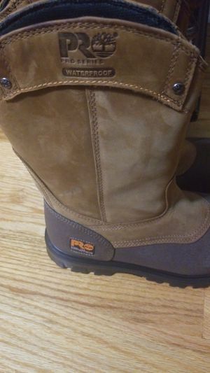 Steel Toe TIMBERLAND work boots $100 for Sale in Decatur, GA