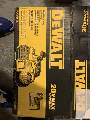 Dewalt 20v band saw for Sale in Allentown, PA