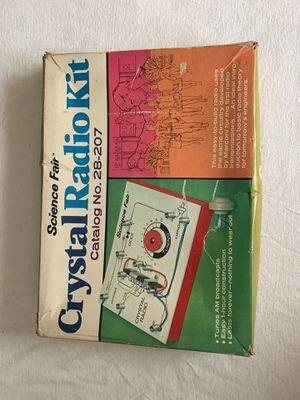 1968 Science Fair Crystal Radio Kit for Sale in Oklahoma City, OK