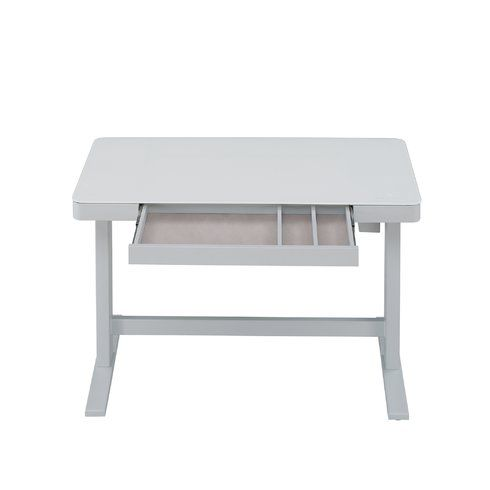 Tresanti Adjustable Height Desk White For Sale In Fort