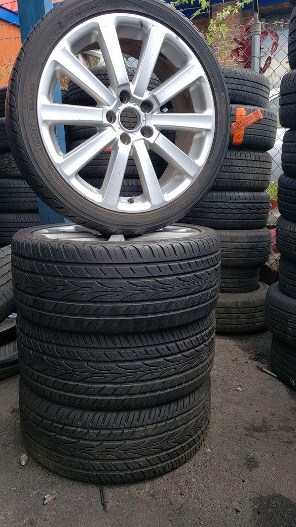 Good rims and tires....4 sets of Yokohama