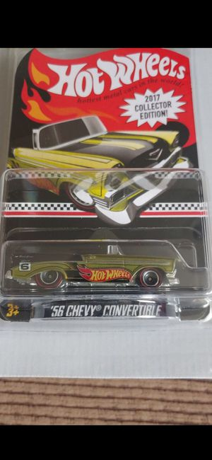 Hot Wheels 56 Chevy Convertible 2017 Collector Edition $10 ea. for Sale in Chino, CA