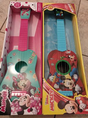 Minnie and mickey guitar for Sale in Riverside, CA
