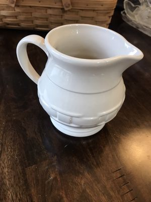 Longaberger pitcher for Sale in Edgewood, WA