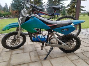 (could be used for parts or as a normal dirt bike) Upgraded ELECTRIC dirt bike - 29 MPH TOP SPEED! And LITHIUM BATTERY for Sale in Vancouver, WA