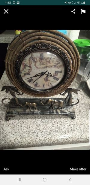 Antique style clock for Sale in Anaheim, CA
