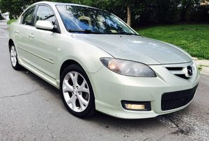Only $3400! 2008 Mazda S Touring! Light Green color ! NEw Driver Special : 2 Keys Clean title for Sale in South Kensington, MD