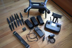 3DR Solo Drone Bundle, includes: 3-Axis Gimbal, 3 Batteries, Backpack & Extras! for Sale in Portland, OR