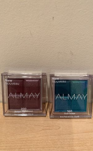 Almay eyeshadow quads - please see all the pictures for Sale in Alexandria, VA