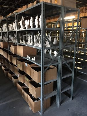 Metal adjustable shelving for Sale in Joliet, IL