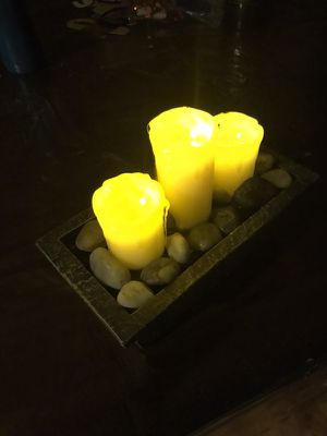 Led candle fountain for Sale in Colorado Springs, CO