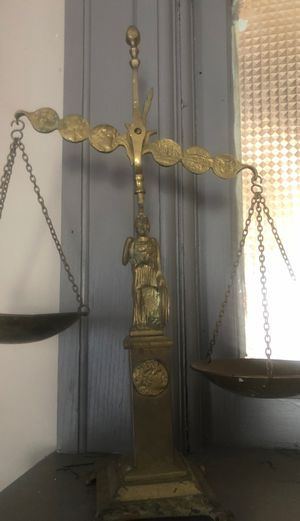 Antique scales of justice for Sale in Elmira, NY