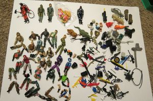 80's G.I. Joe Action Figure and accessories lot Hasbro vintage for Sale in Phoenix, AZ