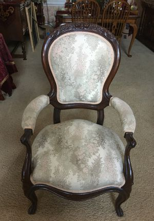 Beautiful antique mahogany chair for Sale in Sacramento, CA
