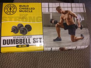 Dumbbell set 4 available for Sale in Keystone Heights, FL