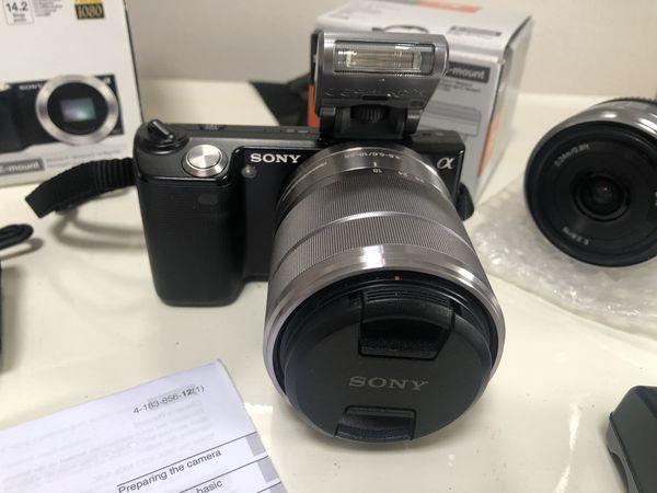 Sony Camera and Lens
