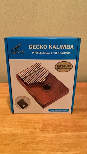 Gecko Kalimba finger piano for Sale in Bothell, WA