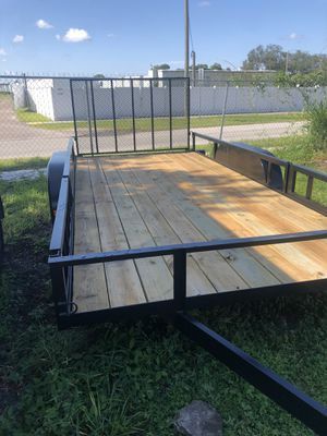 7x16TA Brothers trailer Triple Crown Atv Utility trailer for Sale in Tampa, FL