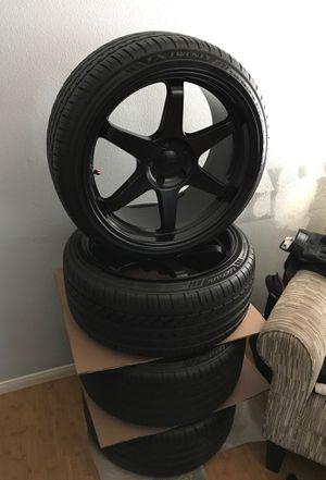 19' Varrstoen Wheels W/ Brand new Lexani's for Sale in Whittier, CA