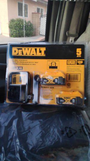 DeWalt batteries $110 for Sale in Fontana, CA