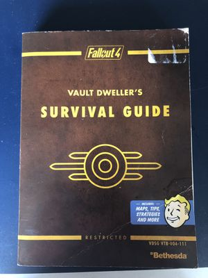 Fallout 4 Vault Dwellers Survival Guide for Sale in Victoria, TX