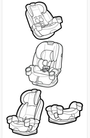 4ever dlx car seat for Sale in Bloomington, CA