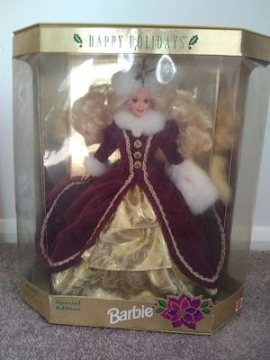Colletible holiday barbie for Sale in Frederick, MD