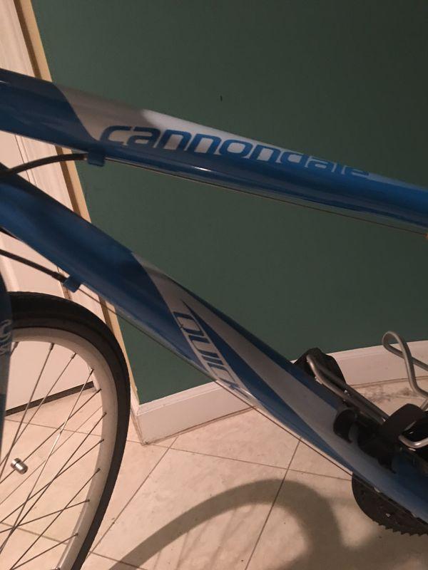 Cannondale hybrid mountain/road bike