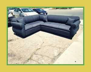 """new 7x9 ft """"Elite black"""" sectional couches for Sale in Los Angeles, CA"""