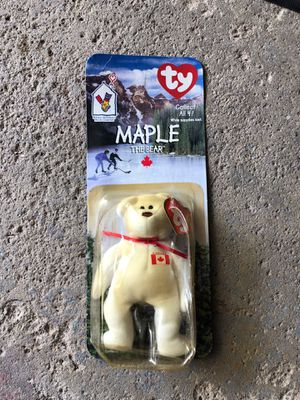 Tiny Beanie Baby 'Maple The Bear' for Sale in Strongsville, OH