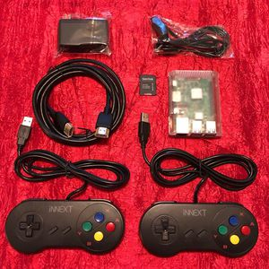 *ON SALE * Raspberry PI gaming system w/ 2 wired controllers(64 GB) for Sale in Houston, TX