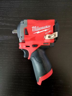 Milwaukee M12 Fuel Brushless 3/8 STUBBY Impact Wrench for Sale in San Jacinto, CA