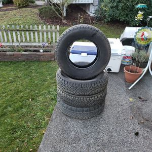 Studded Snow Tires P205/75r15 for Sale in Auburn, WA