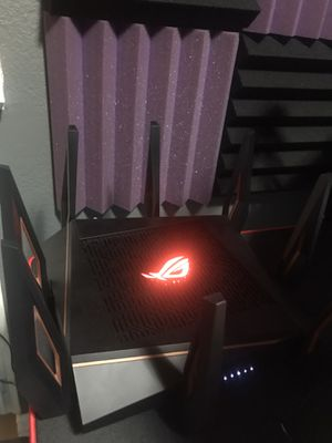 ASUS - ROG Rapture AX11000 Tri-Band Wi-Fi 6 Router for Sale in Yorba Linda, CA
