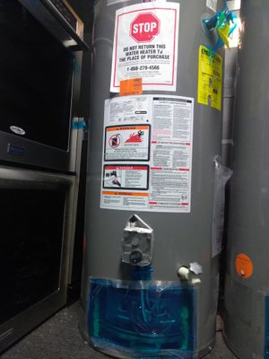 40 gallons water heater promotion installation included for Sale in Los Angeles, CA