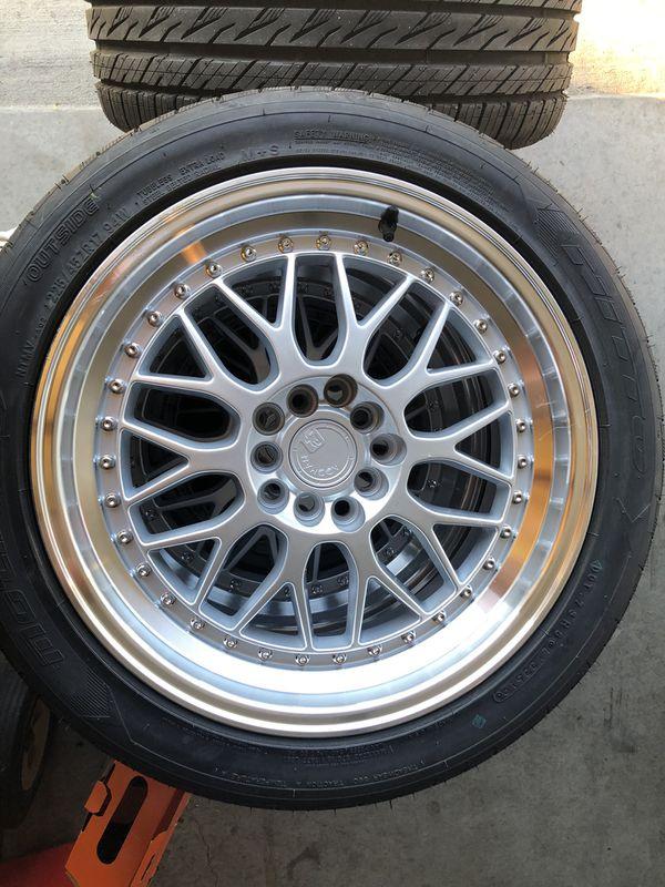 Aodhan AH02 5x100/114.3 +35 w/tires